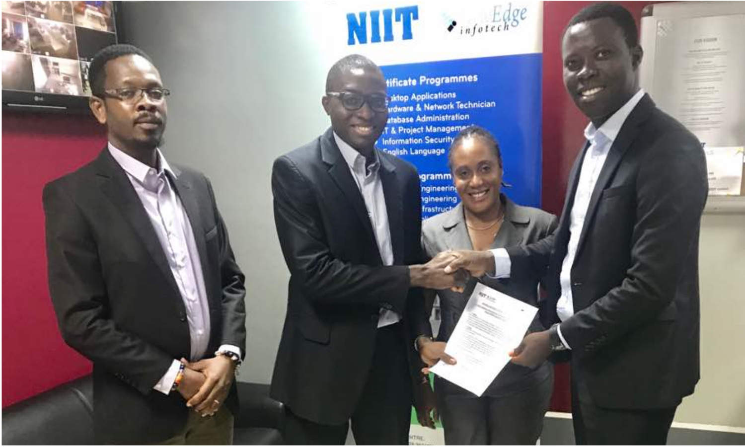 IIPGH Signs MoU with NEIGH – NIIT Ghana
