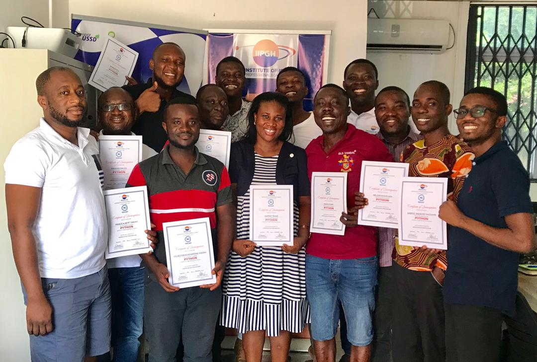 IIPGH Starts Python Programming Training to Promote Data Science