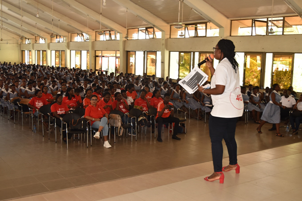 Vodafone & IIPGH Organized ICT Career Coaching Workshop for OLA Girls SHS, Ho