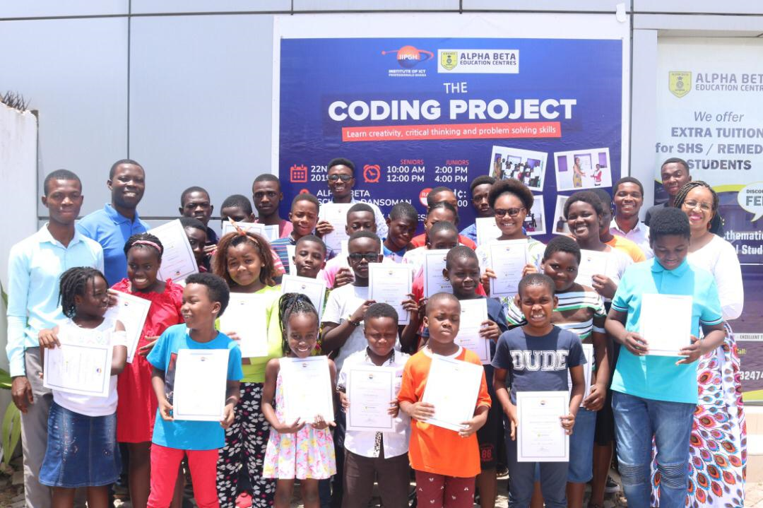 CODING IN SCHOOLS AND COMMUNITIES: IIPGH Launched more Centers in Accra and Takoradi
