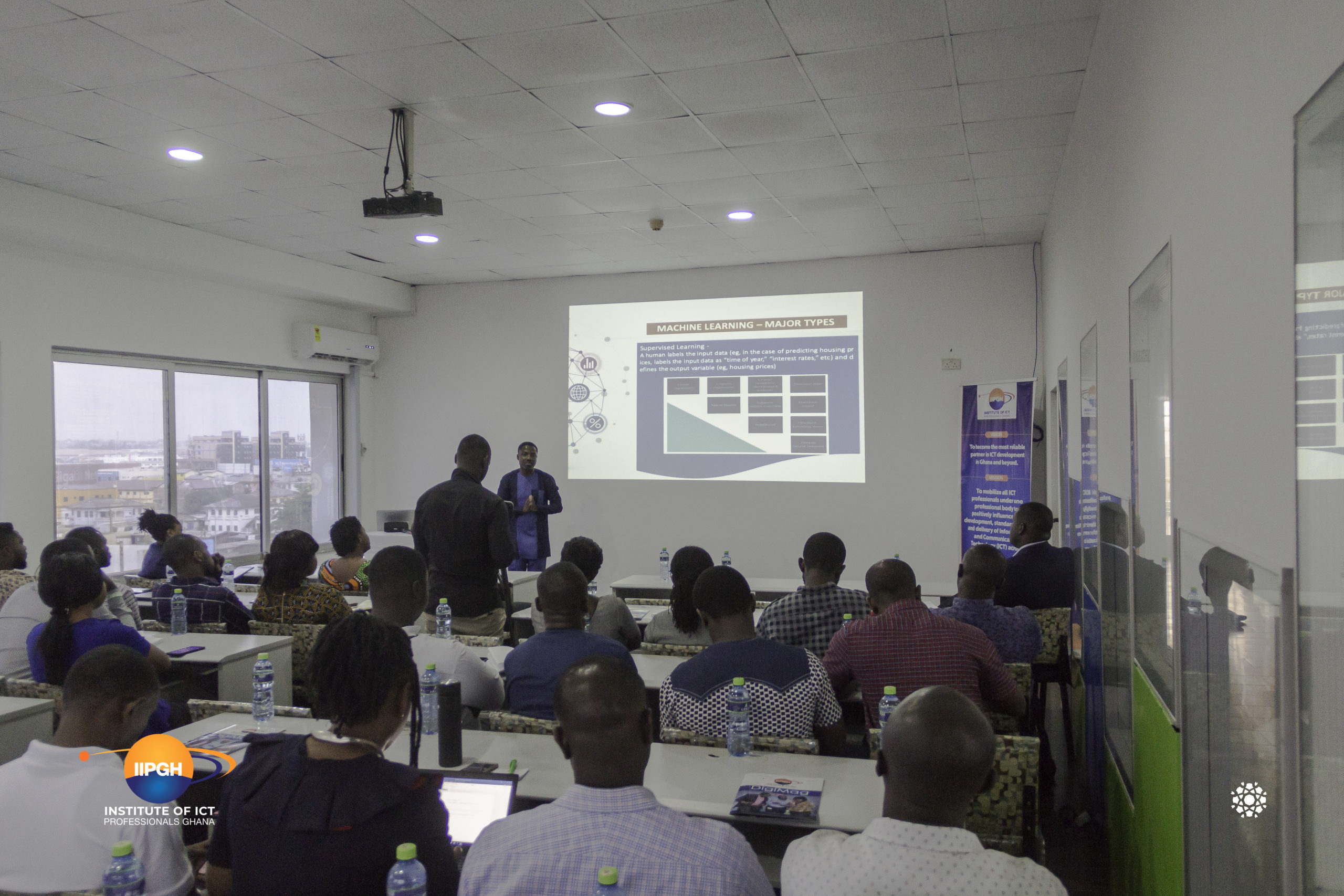 Institute of ICT Professionals Ghana (IIPGH) Organizes Data Science and Cyber Security Workshop